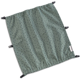 Croozer Suncover voor Kid Vaaya 2, jungle green/black